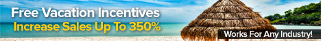 Triple your sales! Give away vacations!
