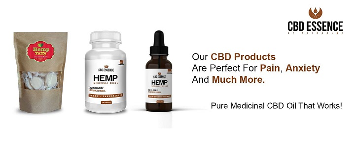 CBD Pure Hemp Oil Sample Pack