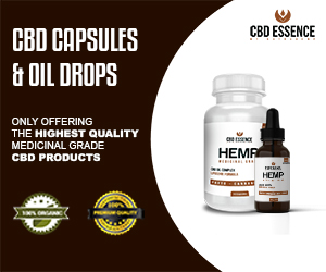 CBD Essence Medicinal Grade Oil and Caps