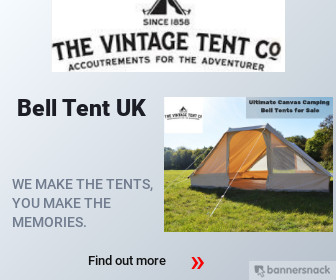 Ultimate Canvas Bell Tent UK | The Vintage Tent Company
