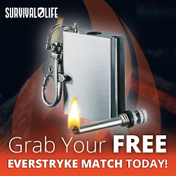 FREE Waterproof Fire Starter!