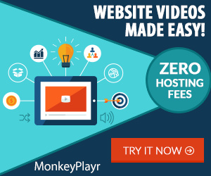 With Monkey Playr you can add ANY video from YouTube to your website or blog