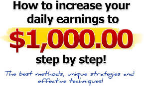 Are you open for making money online